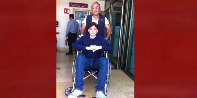 CORNADA a Diego Emilio en festejo SUSPENDIDO por LLUVIA (*FOTOS*)