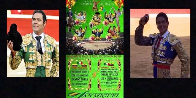 PRESENCIA MEXICANA en Ecuador; actuarán JL ANGELINO y LM Castellanos