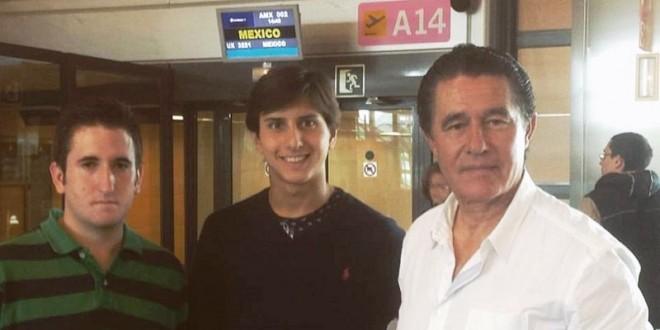 ROCA REY ya vuela rumbo a México