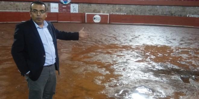 Suspenden la novillada de Zacatecas por lluvia