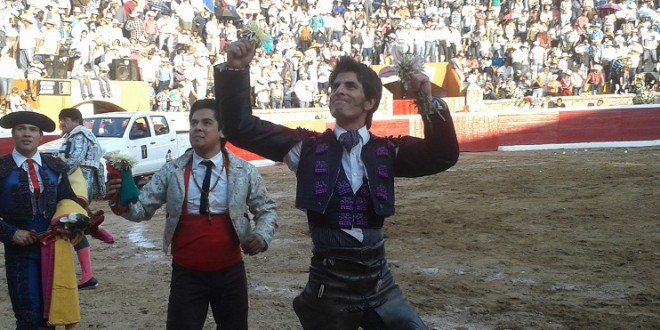 Entrena Gamero en la Plaza México