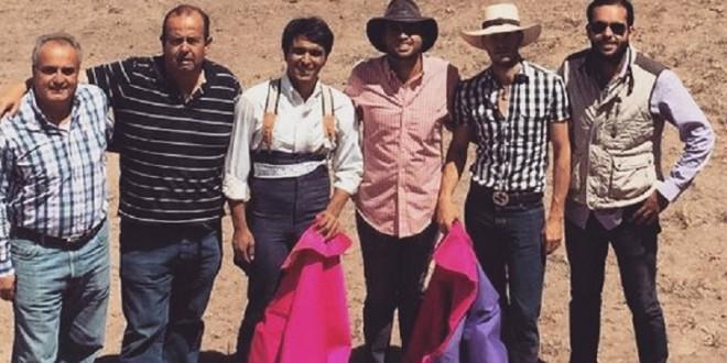 Saldívar y López tientan astados para sementales
