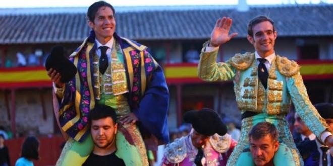 Rotundo triunfo de DIEGO SILVETI en Santa Cruz de Mudela