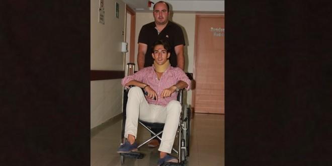 Jesús Duque sale del hospital