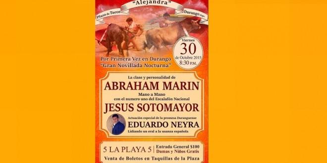 DURANGO: Mano a mano Abraham Marín-Jesús Sotomayor