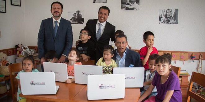 TAUROARTE, empresa taurina socialmente responsable, hace donación a FUNDACIÓN ZOTOLUCO (*Fotos*)