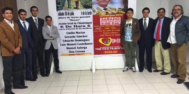 PIZARRO y 'EL ZAPATA'… ¡Mano a mano! en Santa Ana Chiautempan