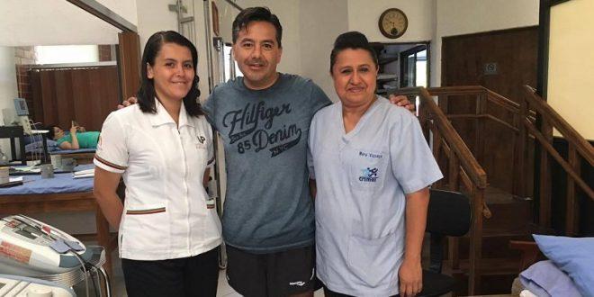 ALBERTO HUERTA concluye PRIMERA ETAPA de REHABILITACIÓN tras dura cornada (*Fotos*)