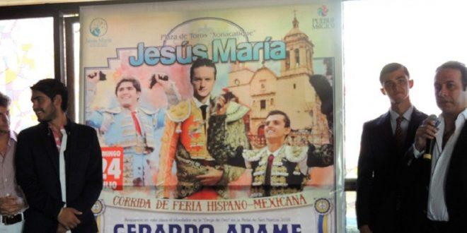 Anuncian una corrida toros para Jesús María