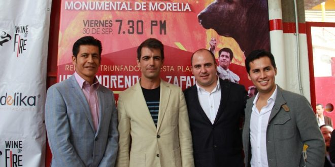 ZAPATA, MACIAS y CHAVEZ, el 30 de septiembre en MORELIA