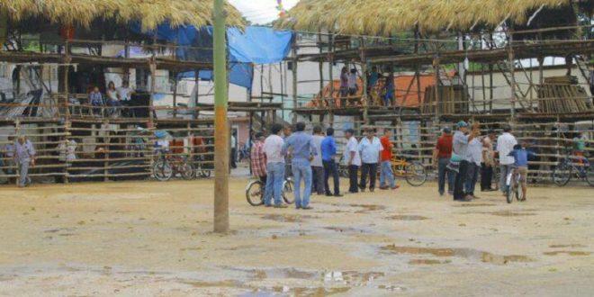 CUAUHTÉMOC AYALA torea PESE a difíciles condiciones del ruedo en Chemax, Yucatán (*Fotos*)