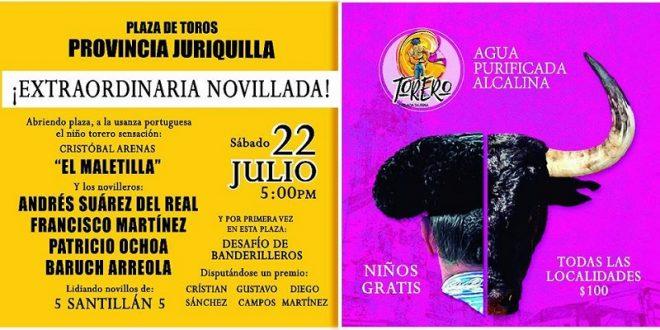 Habrá novillada en Provincia Juriquilla con Desafío de Banderilleros incluido