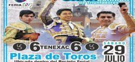 Conozca el encierro de TENEXAC, a lidiarse el sábado en SANTA ANA CHIAUTEMPAN (*Fotos del encierro*)