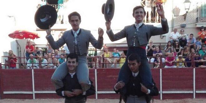Orejas y rabo a Miguel Aguilar en Fuentepelayo, España