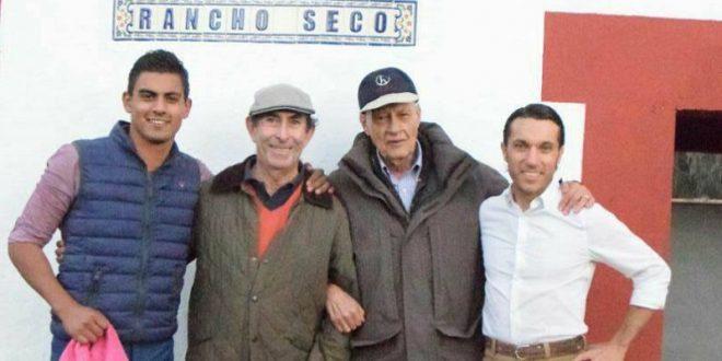 FABIÁN BARBA y GERARDO RIVERA, de tienta en RANCHO SECO (*Fotos*)
