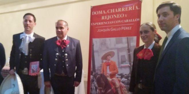 Presentan libro de rejoneo y charrería, obra de Joaquín Gallo