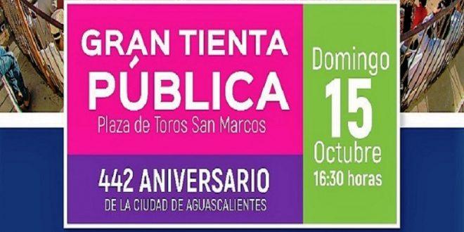 Habrá el domingo tienta pública en la Plaza San Marcos de Aguascalientes