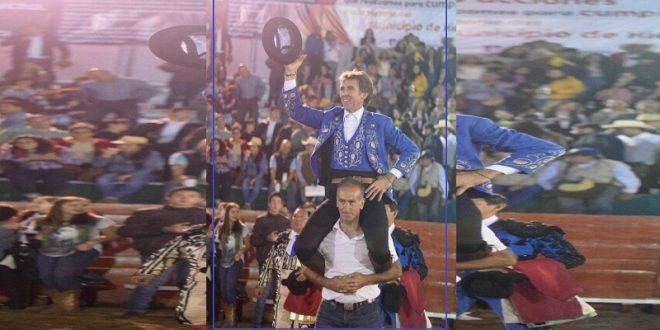 Clamoroso triunfo de HERMOSO de MENDOZA en Ciudad Hidalgo