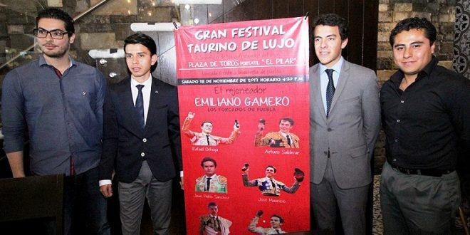 Anuncian en PUEBLA interesante festival taurino benéfico, el 18/N (*Fotos*)
