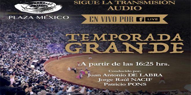 Transmitirá la México la Temporada Grande a través de radio por redes sociales