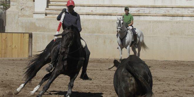 Entrena fuerte Guillermo Hermoso a la vera de su padre (*Fotos*)
