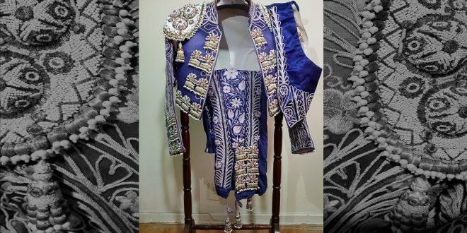 TIENDA TORERA exhibe traje para coleccionistas de la sastre ENRIQUETA MARCEN (*Fotos*)