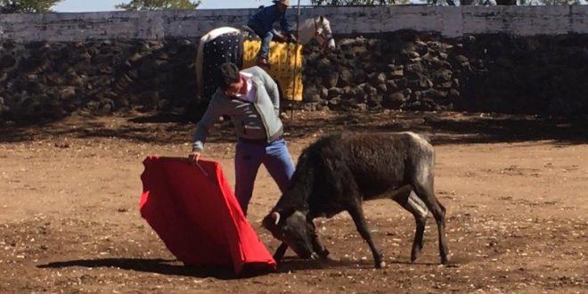 Ensaya EL CHIHUAHUA su tauromaquia en SAN MATEO (*Fotos*)