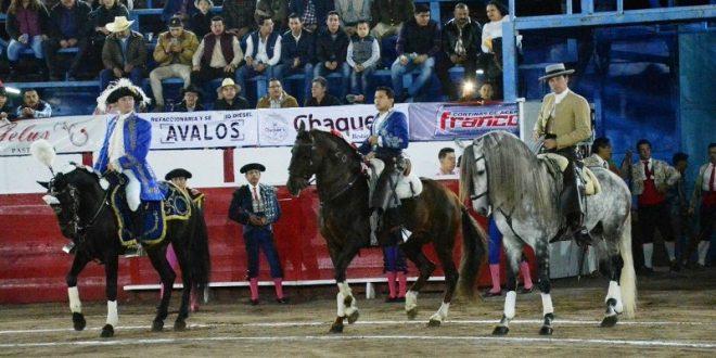 Triunfal velada a caballo en Uriangato (Fotos*)