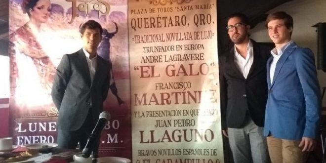 Presentan novillada de año nuevo en Querétaro