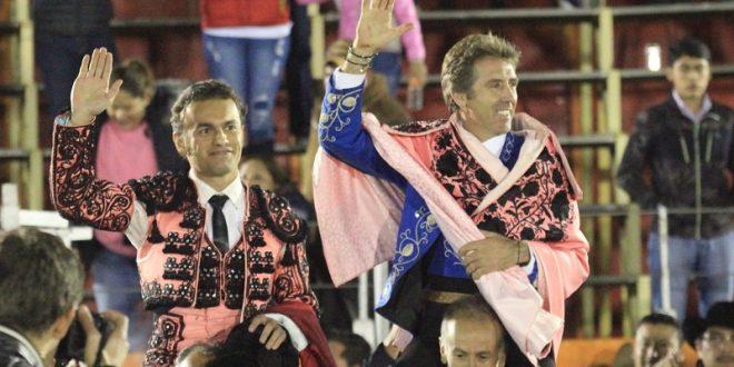 A HOMBROS, Hermoso de Mendoza y Jorge Sotelo en Ixtlahuaca