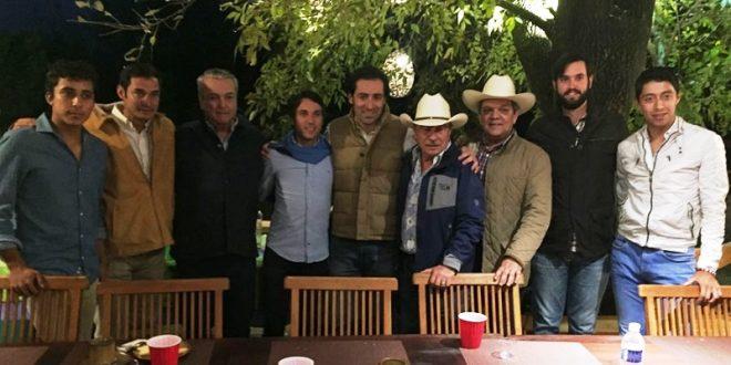 Día en el campo bravode Barba, Flores y Valadez, en San Pablo (*Fotos y video*)