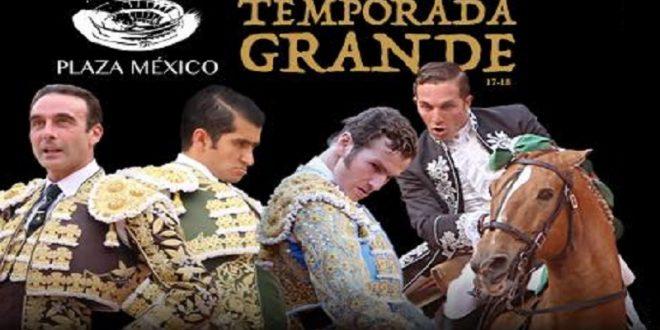 """PLAZA MÉXICO: Gárate a caballo y, a pie, Ponce, Joselito y """"El Payo"""" (*Efemérides de la Temporada Grande*)"""