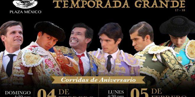 PLAZA MÉXICO: Jerónimo al festejo de aniversario