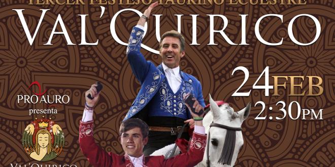 En VAL'QUIRICO, el 24 de febrero, PABLO y GUILLERMO Hermoso de Mendoza