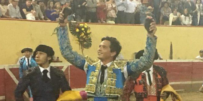 Triunfan los tres toreros en Jalpa, Zacatecas