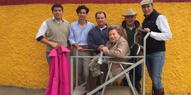 Confirma Salvador López su vocación en la dehesa de La Playa (*Fotos*)