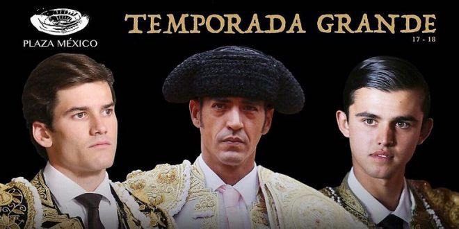 Cartelazo en la Plaza México: Garibay, Garrido y Sánchez, con Arroyo Zarco