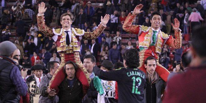 PLAZA MÉXICO: El Juli y Sergio Flores salen a hombros en el mano a mano (*Fotos*)