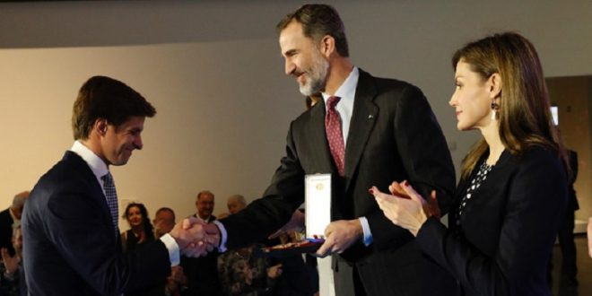 Recibe EL JULI, la Medalla de Oro al Mérito de las Bellas Artes en España