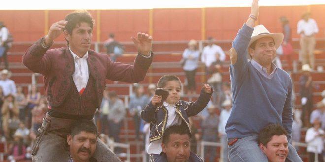 ACONTECIMIENTO TAURINO y SOCIAL, la triunfal salida a hombros de REJONEADORES y GANADERO en VAL´QUIRICO (*Fotos*)
