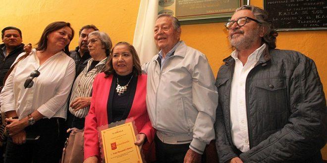 En Tlaxcala, HOMENAJE a Tulio Hérnandez (*Fotos*)
