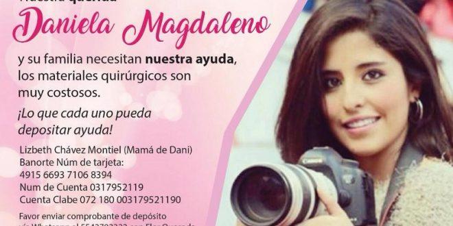 ¡Exitosa operación a Daniela Magdaleno! #Fuerzadani