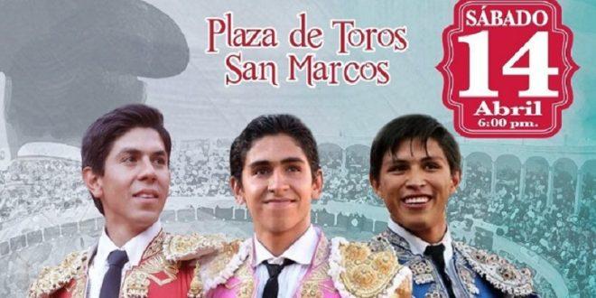 Hermosillo, Gutiérrez y Román, en la novillada de triunfadores de la San Marcos