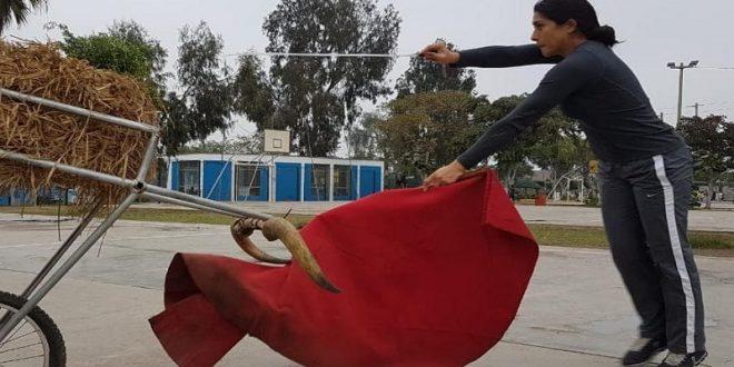 Entrena Lupita López con la torería peruana previo a mano a mano en Cutervo (*Fotos*)