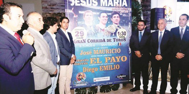 Cartel variado en Jesús María