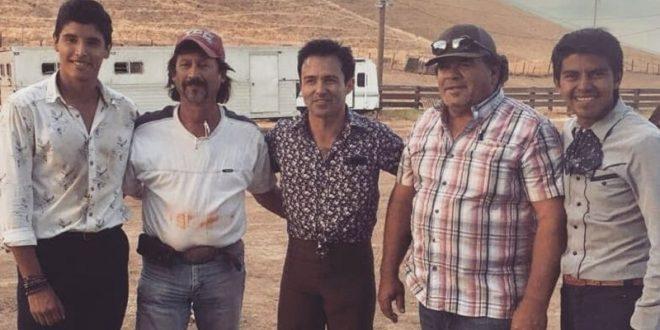 Tienta Cayetano Delgado en ganadería estadunidense, propiedad de portugués