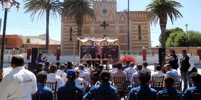 'El Zapata', Barba y Saldívar, en Cedral, San Luis Potosí, el 14 de agosto