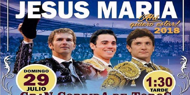 Estupendo cartel para cerrar la feria en Jesús María, Aguascalientes