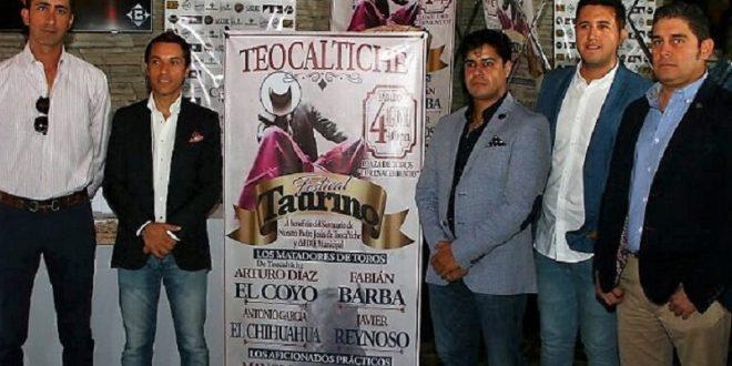 Habrá festival taurino benéfico en Teocaltiche
