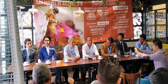 Tres novilladas y una corrida de toros, en la temporada de San Miguel de Allende